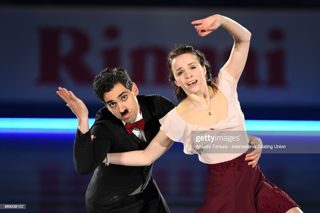 Anna Cappellini and Luca Lanotte of Italy perform their routine in the Gala exhibition during the ISU Junior & Senior Grand Prix of Figure Skating Final at Nippon Gaishi Hall on December 10, 2017 in Nagoya, Japan.