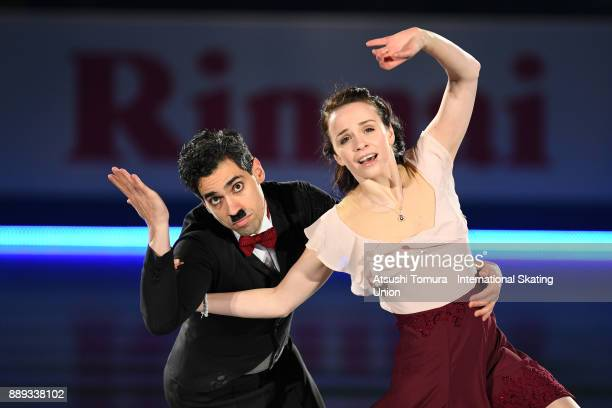 Anna Cappellini and Luca Lanotte of Italy perform their routine in the Gala exhibition during the ISU Junior Senior Grand Prix of Figure Skating...