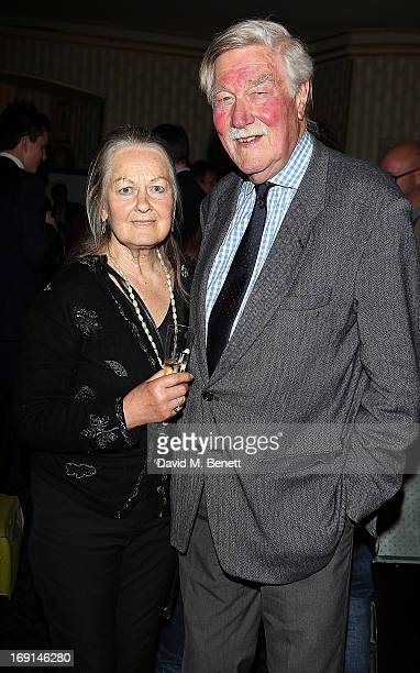Anna Carteret and Christopher Morahan attend the after party following the press night for Relatively Speaking at Wyndhams Theatre on May 20 2013 in...