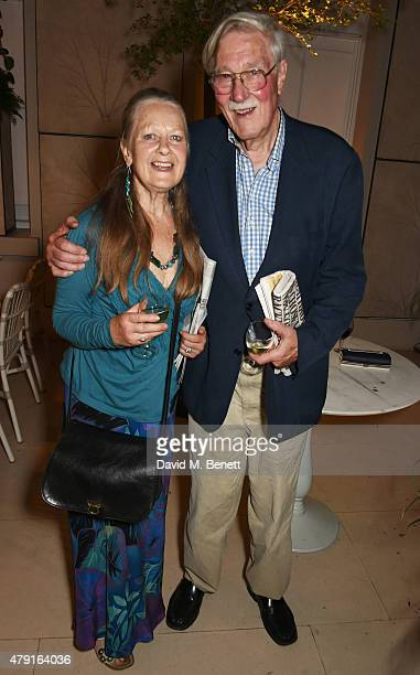 Anna Carteret and Christopher Morahan attend the after party following the press night performance of The Importance of Being Earnest at the Spring...