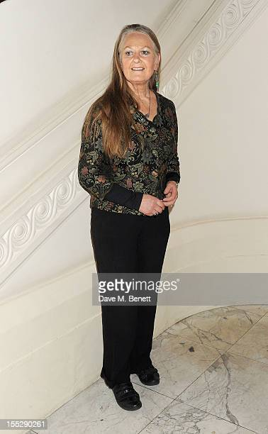 Anna Carteret attends an after party following the press night performance of 'Uncle Vanya' at The Charing Cross Hotel on November 2 2012 in London...
