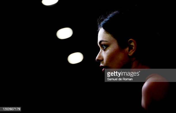 Anna Castillo attends Adu Madrid Premiere on January 28 2020 in Madrid Spain