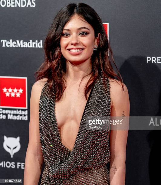Anna Castillo attends Feroz awards 2020 red carpet at Teatro Auditorio Ciudad de Alcobendas on January 16 2020 in Madrid Spain