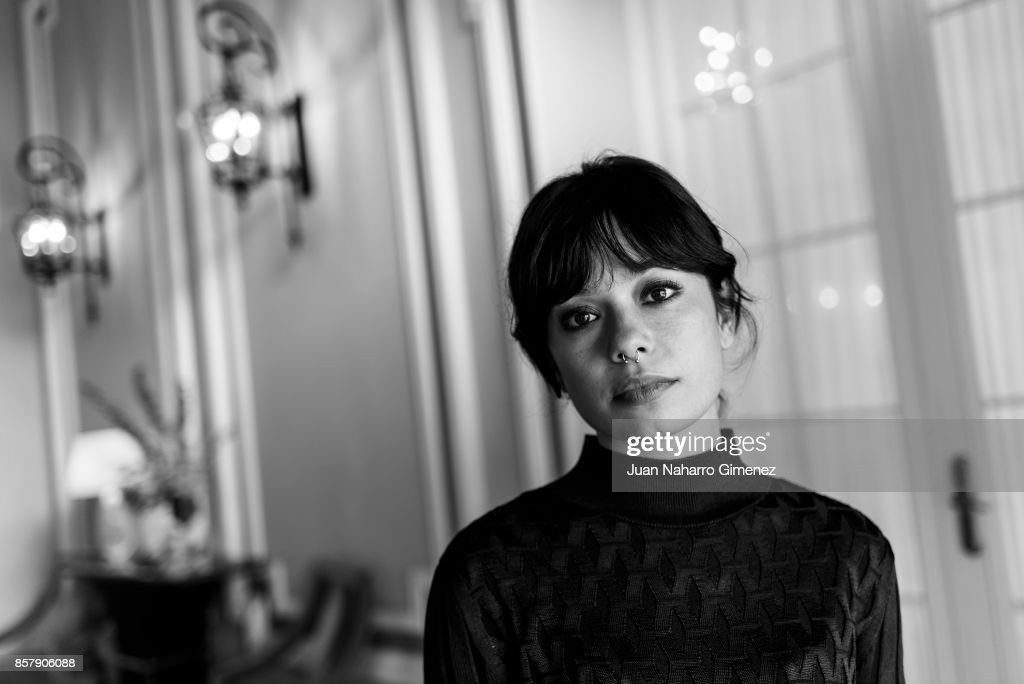 Anna Castillo is seen posing during a portrait session at Maria Cristina Hotel on September 28, 2017 in San Sebastian, Spain.