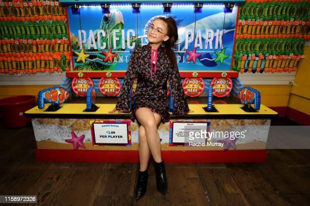 Anna Cathcart attends the Stranger Things Season 3 World Premiere on June 28 2019 in Santa Monica California