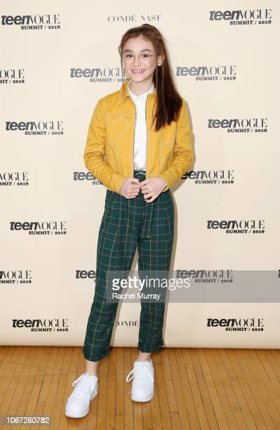 Anna Cathcart attends The Teen Vogue Summit 2018 at 72andSunny on December 1 2018 in Los Angeles California