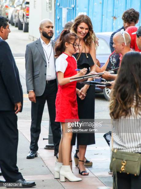 Anna Cathcart is seen on August 16 2018 in Los Angeles California