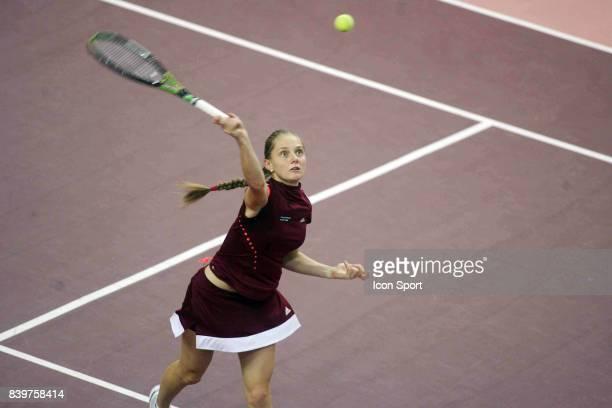 Anna CHAKVETADZE 1/2 Finale Open Gaz de France 2008