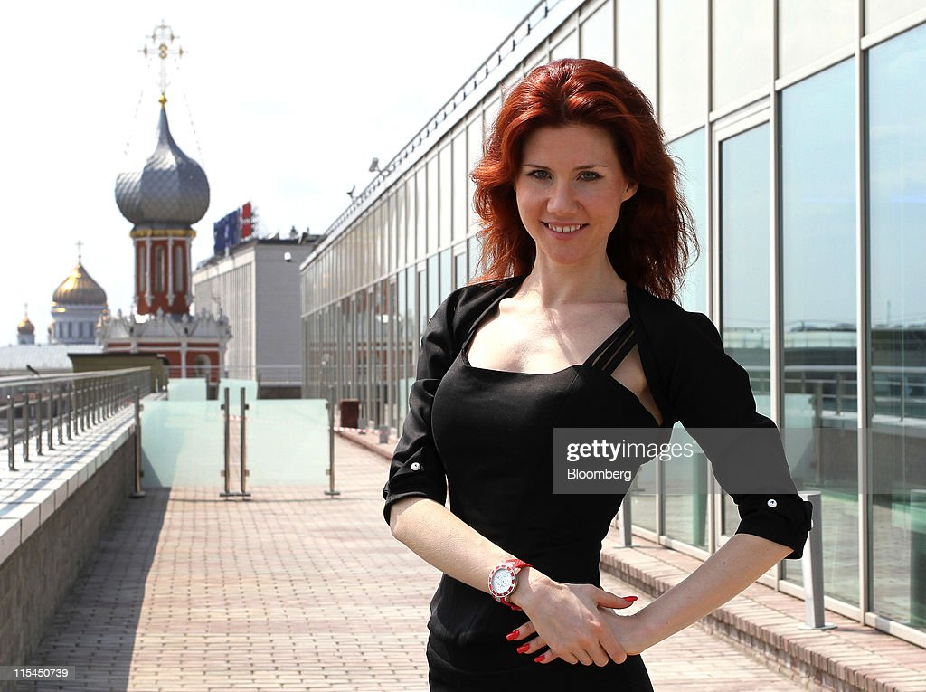 Russian Spy Chapman Moves From Modeling to Venture Capitalism : News Photo