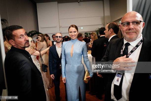 Anna Chibisova attends the Inaugural 'World Bloggers Awards' during the 72nd annual Cannes Film Festival on May 24 2019 in Cannes France The 'World...