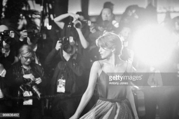 Anna Chipovskaya attends the screening of Leto during the 71st annual Cannes Film Festival at Palais des Festivals on May 9 2018 in Cannes France