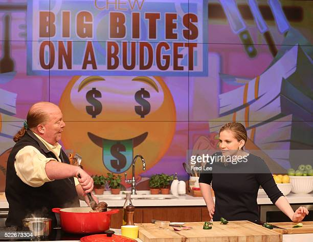 THE CHEW 4/20/16 Anna Chlumsky and Leah Ashley are the guests today on THE CHEW airing MONDAY FRIDAY on the ABC Television Network CHLUMSKY
