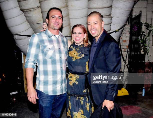 Anna Chlumsky and Shaun So attend Refinery29's '29Rooms Turn It Into Art' at 106 Wythe Ave on September 7 2017 in New York City