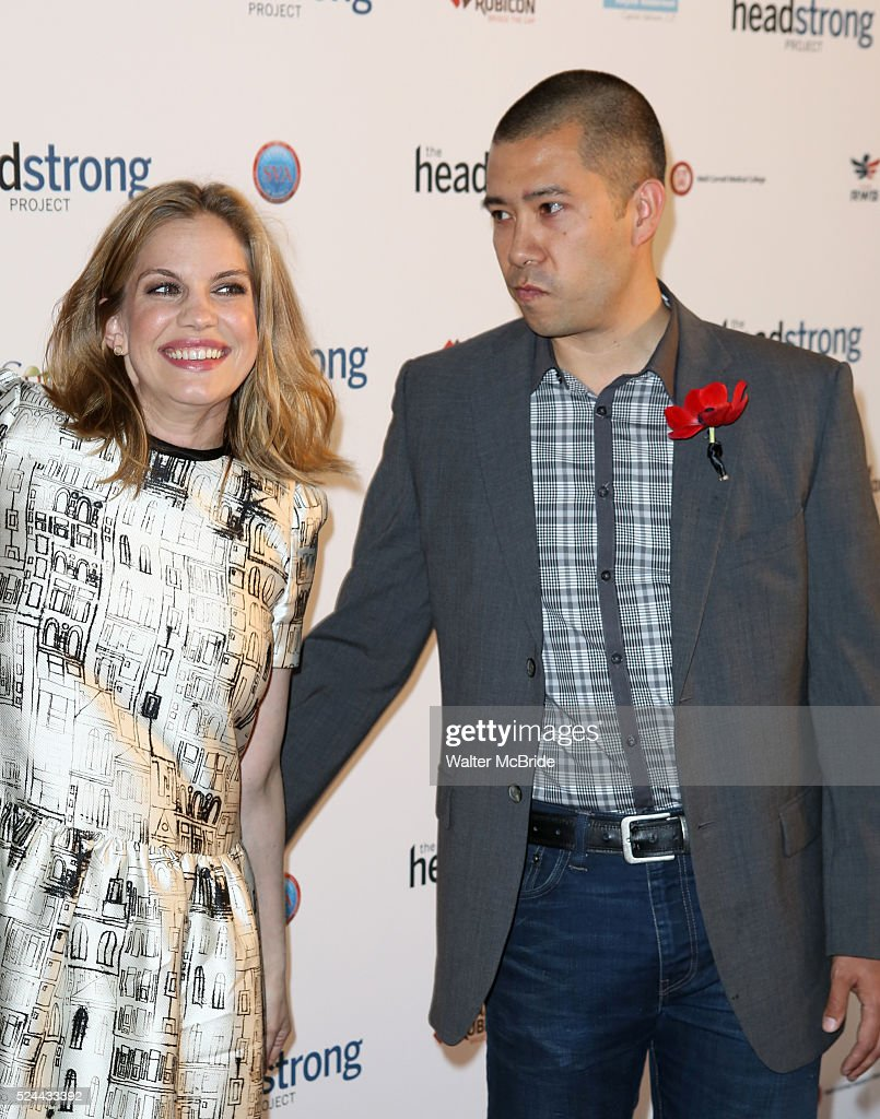 Anna Chlumsky And Shaun So Attending The Headstrong Project Words