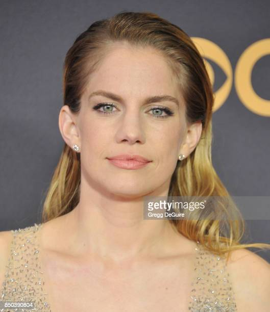 Anna Chlumsky arrives at the 69th Annual Primetime Emmy Awards at Microsoft Theater on September 17 2017 in Los Angeles California