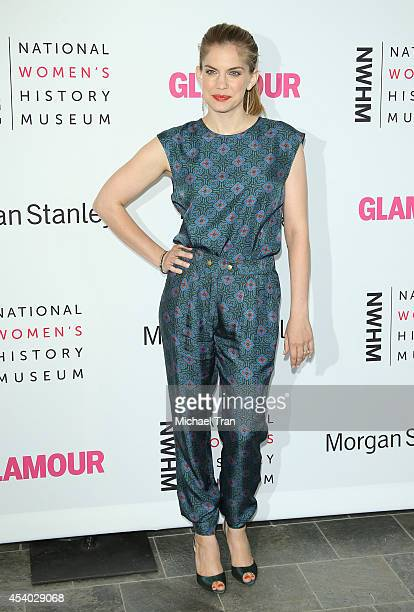 Anna Chlumsky arrives at the National Women's History Museum's 3rd Annual Women Making History event held at Skirball Cultural Center on August 23,...