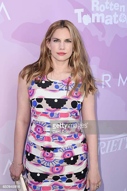 Anna Chlumsky arrives at Variety's Celebratory Brunch Event For Awards Nominees Benefiting Motion Picture Television Fund at Cecconi's on January 28...