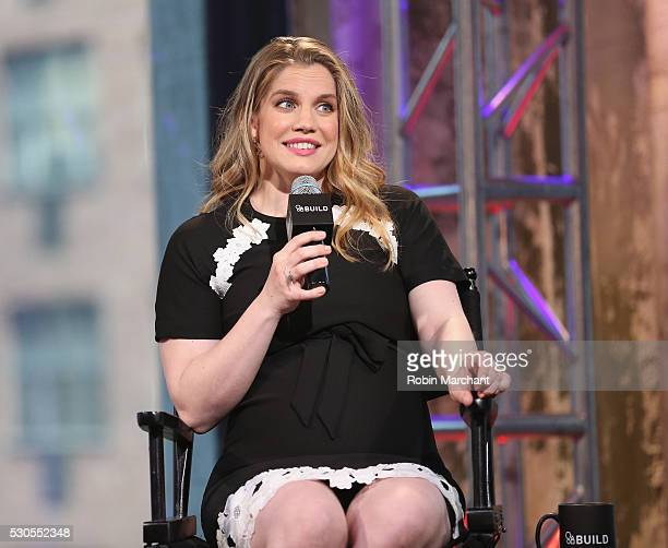 Anna Chlumsky attends AOL Build Speaker Series Anna Chlumsky Veep on May 11 2016 in New York New York