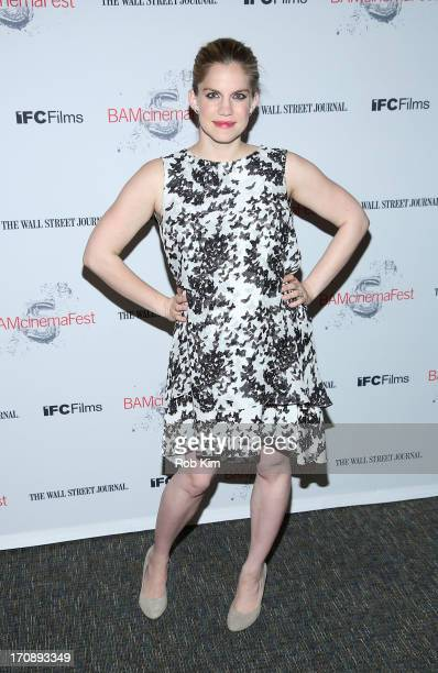 Anna Chlumsky attends BAMcinemaFest 2013 And The Cinema Society Host The Opening Night Premiere Of Ain't Them Bodies Saints at BAM Harvey Theater on...