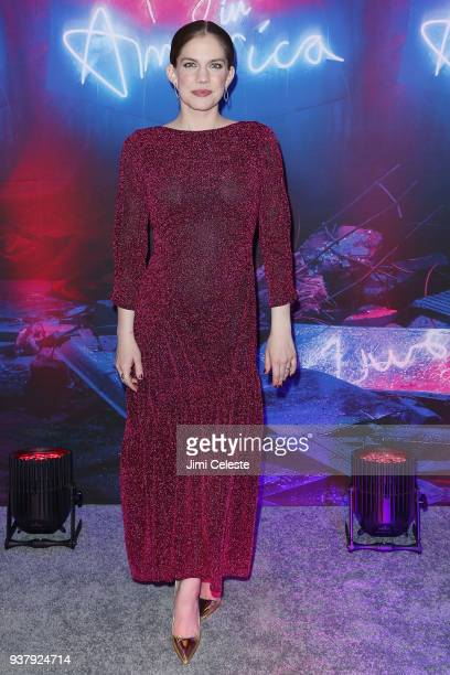 Anna Chlumsky attends Broadway opening night 'Angels in America' part 2 at Neil Simon Theatre on March 25 2018 in New York City