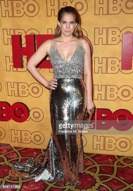 Anna Chlumsky attends HBO's Post Emmy Awards Reception at The Plaza at the Pacific Design Center on September 17 2017 in Los Angeles California