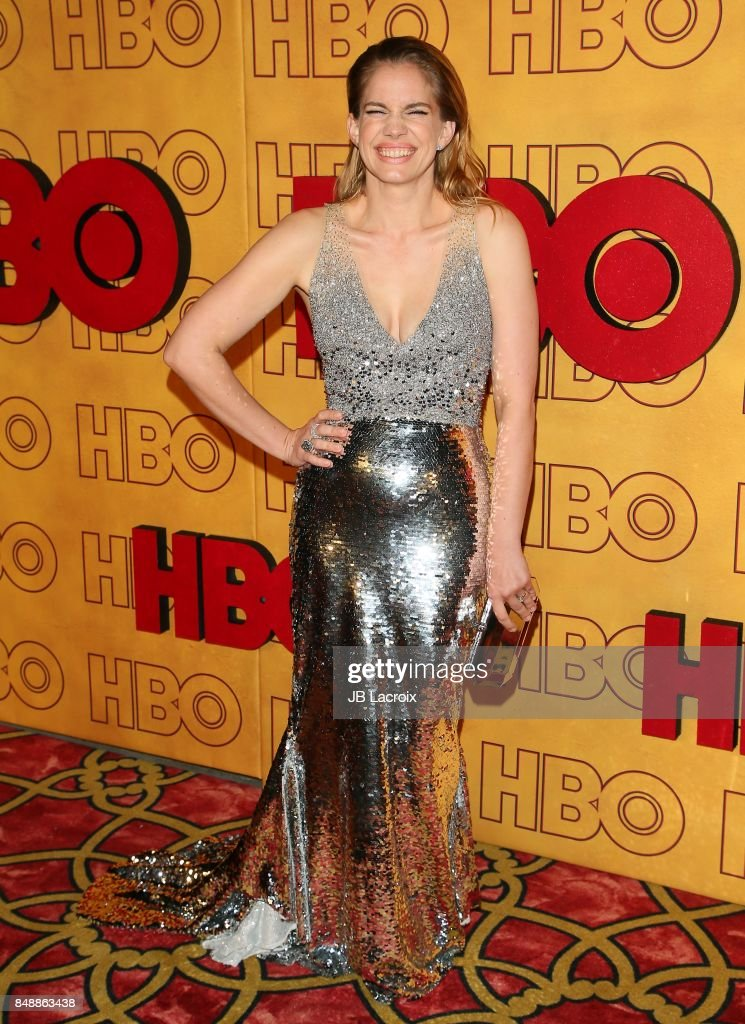 Anna Chlumsky attends HBO's Post Emmy Awards Reception at The Plaza at the Pacific Design Center on September 17, 2017 in Los Angeles, California.