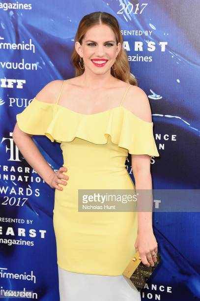 Anna Chlumsky attends the 2017 Fragrance Foundation Awards Presented By Hearst Magazines at Alice Tully Hall on June 14 2017 in New York City