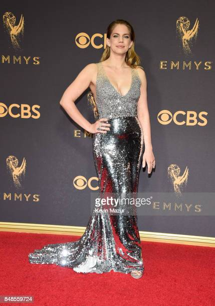 Anna Chlumsky attends the 69th Annual Primetime Emmy Awards at Microsoft Theater on September 17 2017 in Los Angeles California
