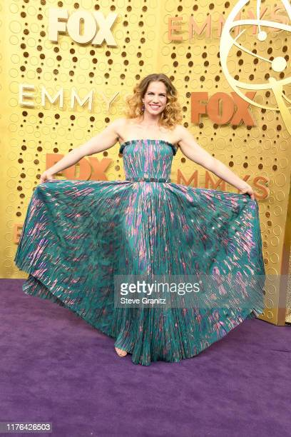 Anna Chlumsky attends the 71st Emmy Awards at Microsoft Theater on September 22, 2019 in Los Angeles, California.