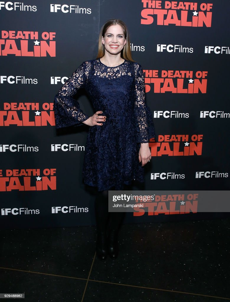 Anna Chlumsky attends 'The Death Of Stalin' New York premiere at AMC Lincoln Square Theater on March 8, 2018 in New York City.