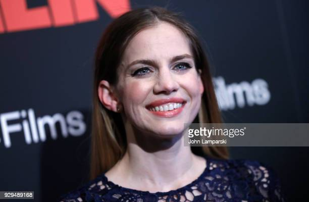 Anna Chlumsky attends 'The Death Of Stalin' New York premiere at AMC Lincoln Square Theater on March 8 2018 in New York City