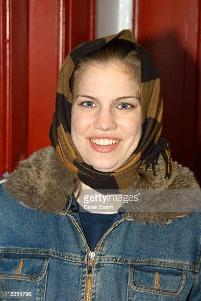 Anna Chlumsky during Anna Chlumsky Stars in Measure for Measure November 14 2004 at Presbyterian Church of Astoria in New York City New York United...