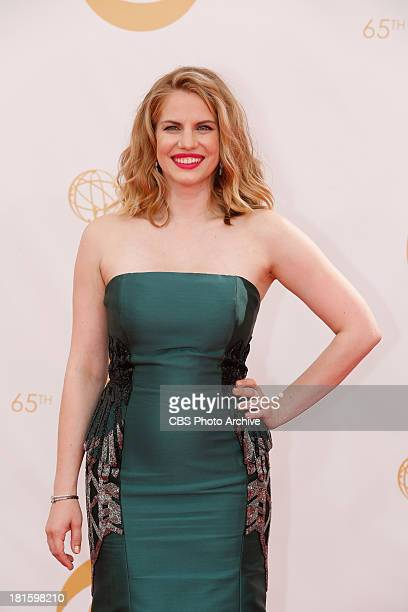 Anna Chlumsky on the Red Carpet for the 65th Primetime Emmy Awards which will be broadcast live across the country 8001100 PM ET/ 500800 PM PT from...