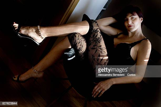 Anna Ciriani wearing her sexy outfit at home Anna Ciriani a history and literature teacher was fired from her school after students discovered a...