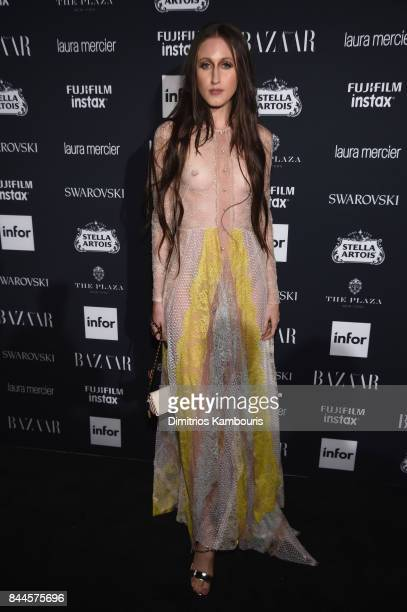 Anna Cleveland attends Harper's BAZAAR Celebration of 'ICONS By Carine Roitfeld' at The Plaza Hotel presented by Infor Laura Mercier Stella Artois...