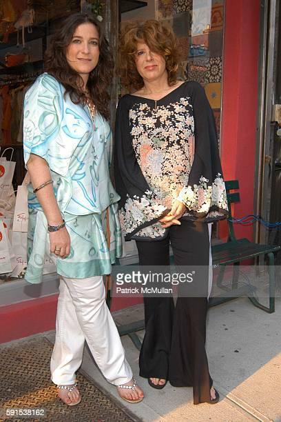 Anna Corinna and Dana Foley attend Foley Corinna Store Opening Party at Foley Corinna Store on June 8 2005