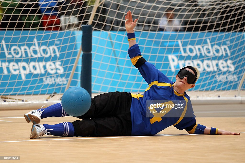 Goalball - LOCOG Test Event for London 2012