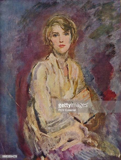 Anna Daughter of the Artist' 1905 After the painting by Ambrose McEvoy ARA' 1935 From Modern Masterpieces Part 8'