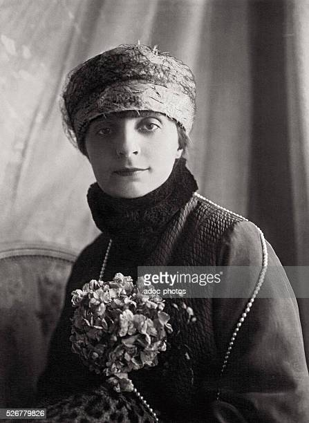 Anna de Noailles RomanianFrench writer In 1922