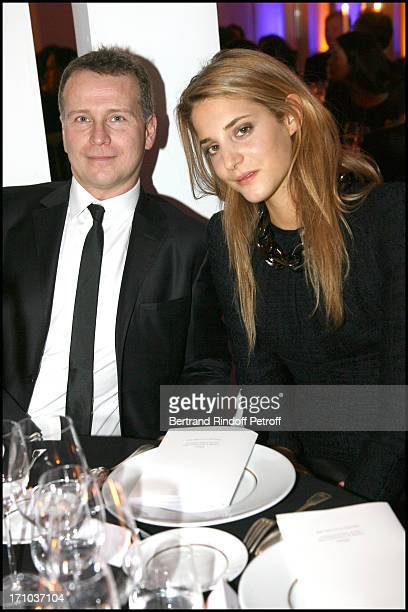 Anna De Pahlen and Fabrizio Malverdi at The Charity Dinner Held In Association With Otm In Aid Of Rwandan Children At L'Espace Pierre Cardin In Paris
