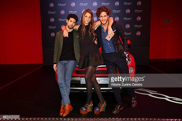 Anna de Pahlen and guests attend the Fiat 500X The Power of X with Dynamo performance at the Copper Box Arena Queen Elizabeth Olympic Park on January...