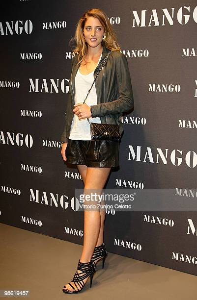 Anna De Pahlen attends the Mango Flagship Store Opening on April 22 2010 in Milan Italy