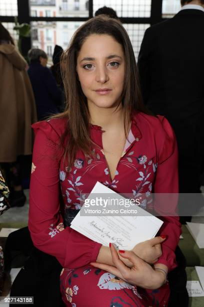 Anna de Pahlen attends the Valentino show as part of the Paris Fashion Week Womenswear Fall/Winter 2018/2019 on March 4 2018 in Paris France