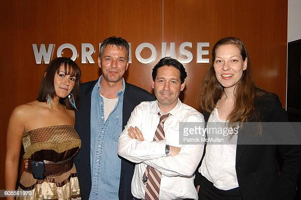 Anna De Souza Eduard de Lange Adam Nelson and Julia Jentzsch attend Workhouse Wonderland Fall Preview and Luxury Gifts at Workhouse on May 24 2006 in...