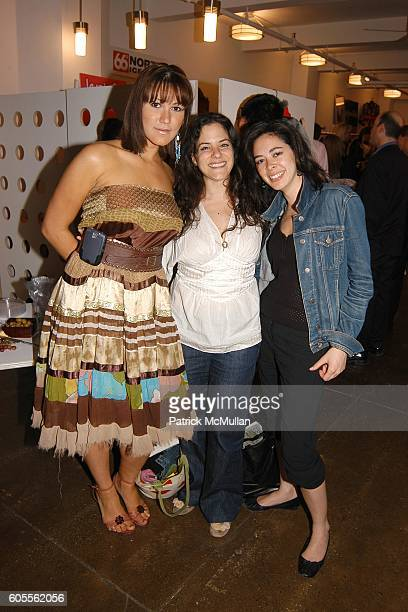 Anna De Souza Jaci Badzin and Marlene Parron attend Workhouse Wonderland Fall Preview and Luxury Gifts at Workhouse on May 24 2006 in New York City