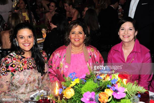 Anna Deavere Smith and guests attends New York City Ballet 2018 Spring Gala at David H Koch Theater Lincoln Center on May 3 2018 in New York City