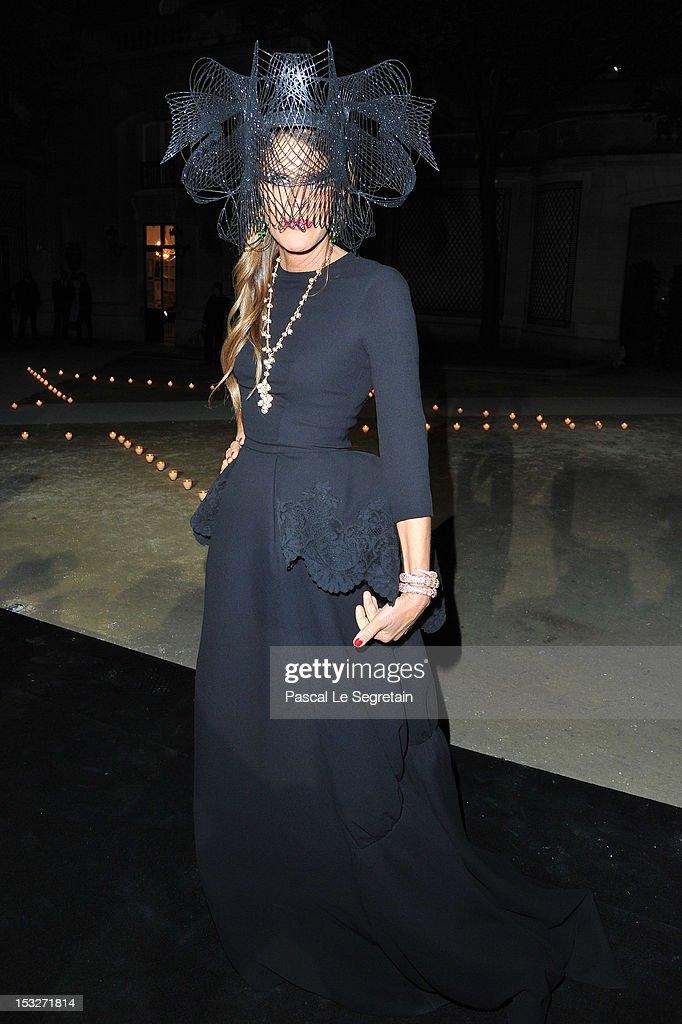 MAC & Carine Roitfeld - LE BAL - Paris Fashion Week Womenswear Spring / Summer 2013