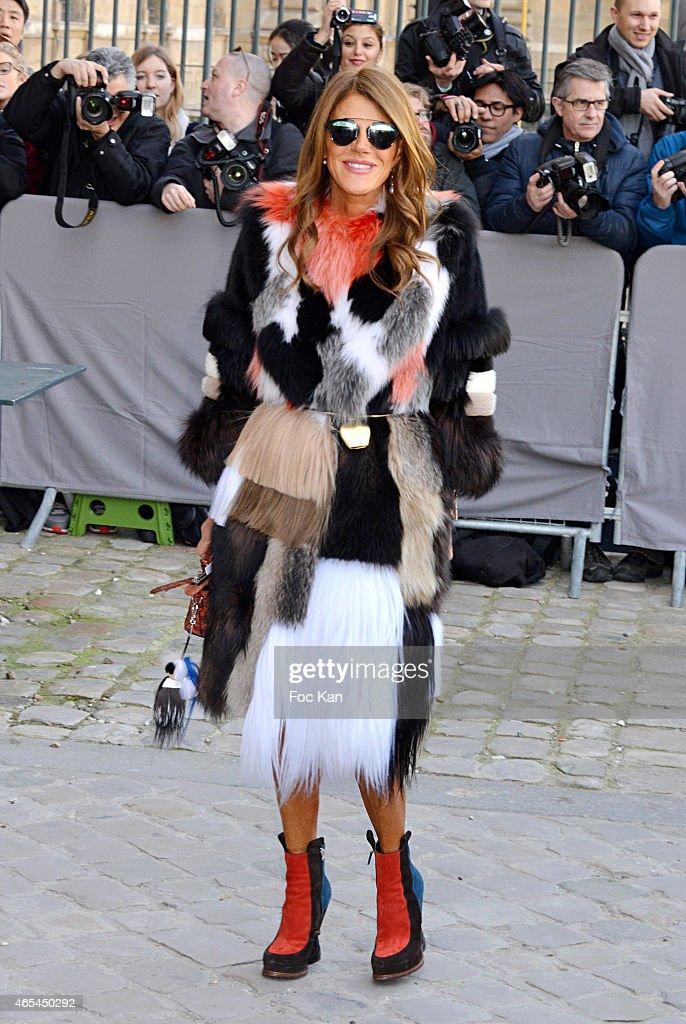 Christian Dior : Outside Arrivals - Paris Fashion Week Womenswear Fall/Winter 2015/2016