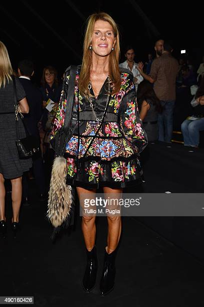 fec7e6574561 Anna Dello Russo attends the DSquared2 show during the Milan Fashion Week  Spring Summer 2016