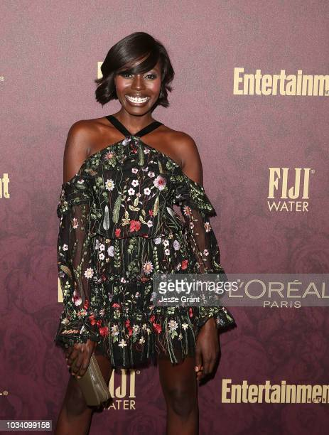 Anna Diop attends FIJI Water at Entertainment Weekly PreEmmy Party on September 15 2018 in Los Angeles California
